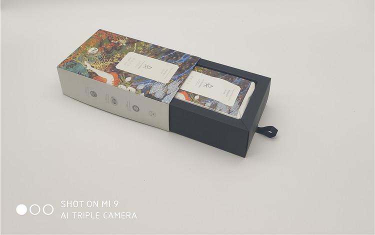 长沙黑茶卡盒包装设计定制