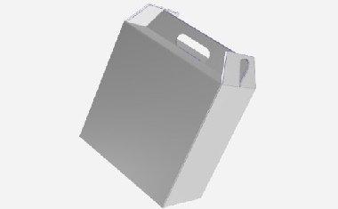 【手提盒】手提盒包装设计展开图|效果图