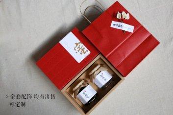 瓦楞抽屉式蜂蜜礼盒包装