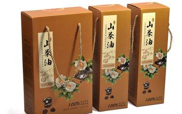 山茶油包装盒设计制作