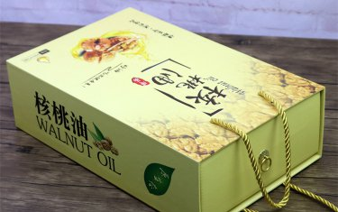 山茶油精品包装盒设计制作
