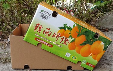湖南脐橙快递水果箱