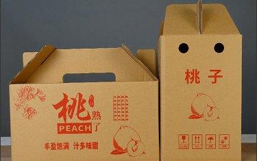 湖南黄桃包装盒设计制作厂家