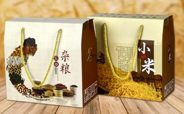 湖南五谷杂粮包装盒彩印厂