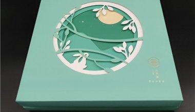 长沙网红款立体浮雕月饼盒